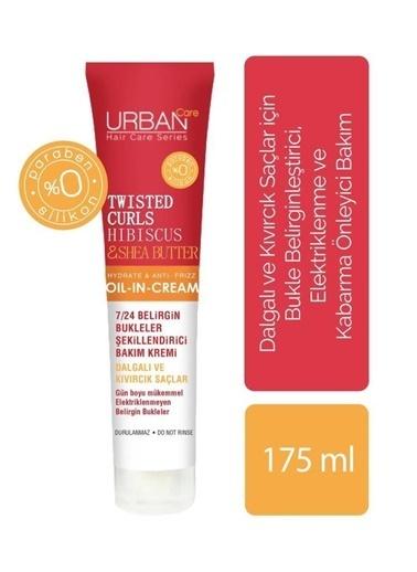 Urban Care Hibiscus Ve Shea Yağı İçeren Bukle Belirginleştirici Durulanmayan Bakım Kremi 175 Ml Renksiz